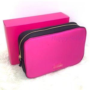 Prada Pouch Case Bag Makeup Organizer Pink Purse